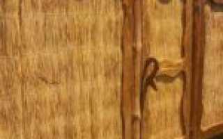 Забор из камыша своими руками — фото и видео