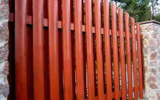 Деревянный забор «Шахматка»: как его сделать своими руками