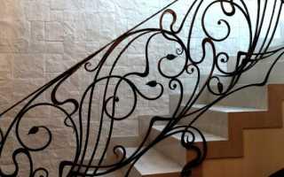 Кованые перила — ограждения для лестниц своими руками