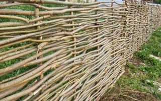 Из чего можно сделать дешевый и недорогой забор на даче