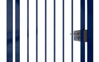 Как сварить и сделать калитку из профильной трубы своими руками