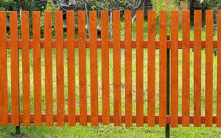 Как сделать самый простой забор своими руками