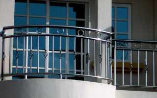 Балконные ограждения из нержавеющей стали (нержавейки)