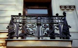 Кованые перила на балкон: разновидности, разнообразие
