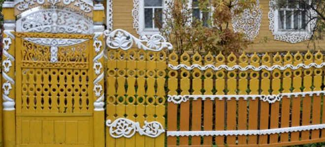 Узоры на деревянном и металлическом заборе: как сделать их своими руками