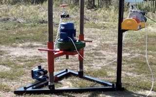 Мотобур своими руками: стойка, шнек, мотор из триммера, бензопилы