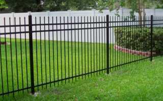 Забор из арматуры (металлических прутьев) своими руками