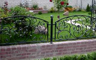 Декоративные заборы для сада из дерева, бетона, пластика и других материалов