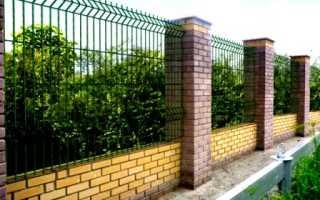 Прозрачный забор на даче: из чего его можно сделать