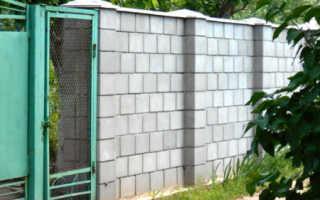 Забор из пеноблоков своими руками: фото