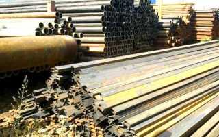 Металлические столбы для забора б/у: их виды и цена