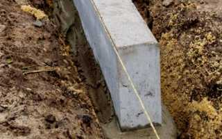 Устройство и укладка бордюрного камня (поребрика)