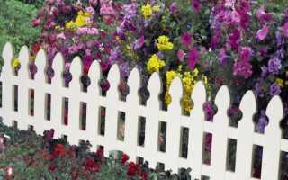 Декоративный заборчик для сада: 15 видов, своими руками