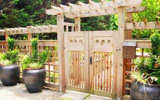 Забор в японском стиле: фото и особенности установки