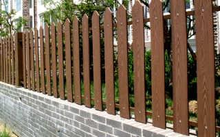 Забор из и ограждения из декинга ( террасной доски )