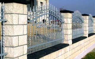 Забор в стиле Прованс: фото