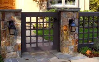 Как сделать красивый забор для частного дома своими руками: фото и видео