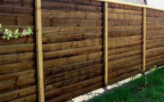 Как сделать деревянный забор лесенкой или елочкой своими руками