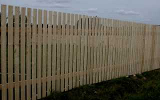 Забор из штакетника: что такое, своими руками, разновидности