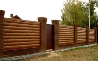 Забор из сайдинга (винилового, металлического) своими руками