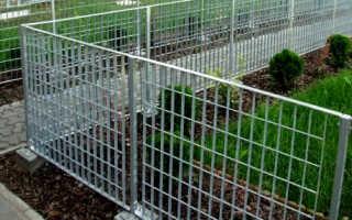 Решетчатый деревянный или металлический забор: фото, цена, изготовление и установка