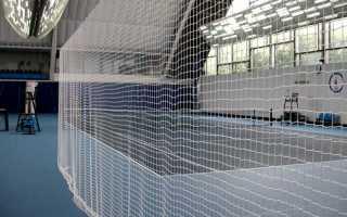 Спортивная заградительная капроновая сетка для площадок и залов 20х20, 40х40, 100х100