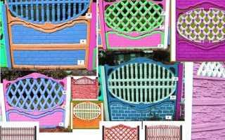 Декоративные бетонные заборы и ограждения: установка и монтаж