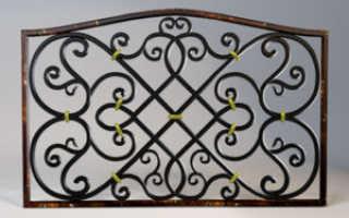 Чугунный забор: литье, монтаж и покраска вручную