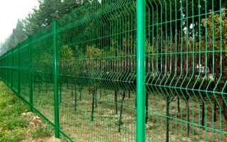 Забор из сетки гиттер: его стоимость и особенности установки своими руками