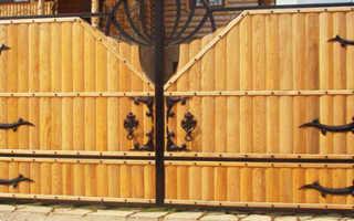Петли для деревянных распашных ворот: фото, цена и как их крепить