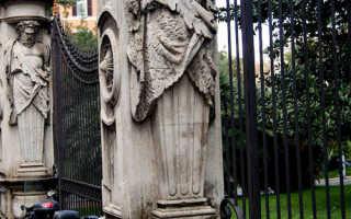 Заборы в итальянском стиле: фото и особенности установки