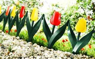 Декоративные заборчики для сада: деревянные, металлические и пластиковые