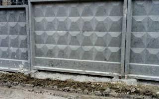 Заборы из плит и панелей ПО-2 и ПО-3: их размеры и особенности