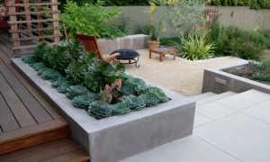 Клумбы (цветники) бетонные своими руками: технология изготовления