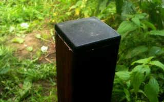 Заглушки на столбы для забора: пластиковые, бетонные и металлические
