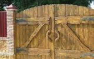 Заборы под старину из дерева своими руками — фото и видео
