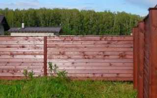 Обработка и пропитка деревянного забора – чем обработать столбы от гниения