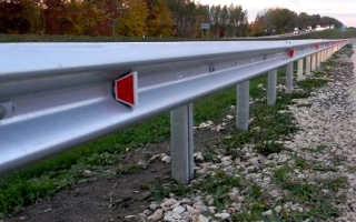Дорожные металлические барьерные ограждения: типы, устройство и установка