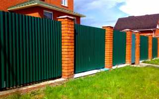 Цена и стоимость металлических, бетонных и кирпичных столбов для забора 60х60 и других размеров
