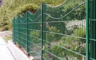 Забор из металлического прута и арматуры своими руками — фото и видео