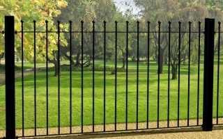 Забор-решетка: металлический, своими руками