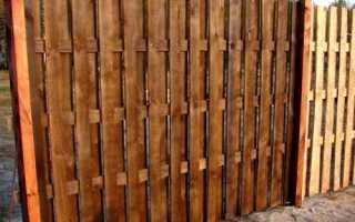 Как сделать забор из необрезной доски своими руками: инструкция, фото и видео