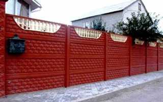 Забор из бетонных плит: установка и монтаж своими руками