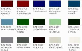 Каким цветом покрасить деревянный и металлический забор