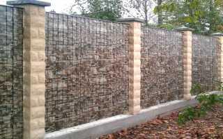 Металлопрофиль под камень: забор из профнастила (профлиста)