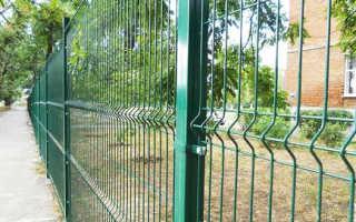 3d металлические ограждения из сетки и панелей: фото, особенности выбора