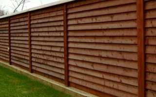 Как сделать деревянный забор жалюзи своими руками: фото и видео