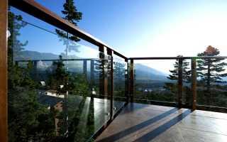 Стеклянные ограждения для балкона: виды, установка, монтаж