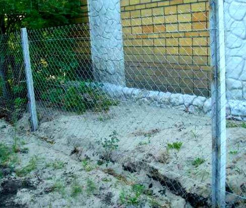 бетонные столбы для сетки