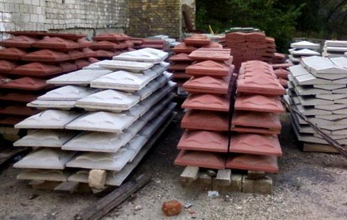 бетонные колпаки